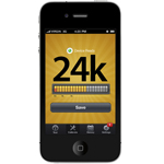 Auracle Gold Tester AGT-2 iPhone Meter Screen 24k 2