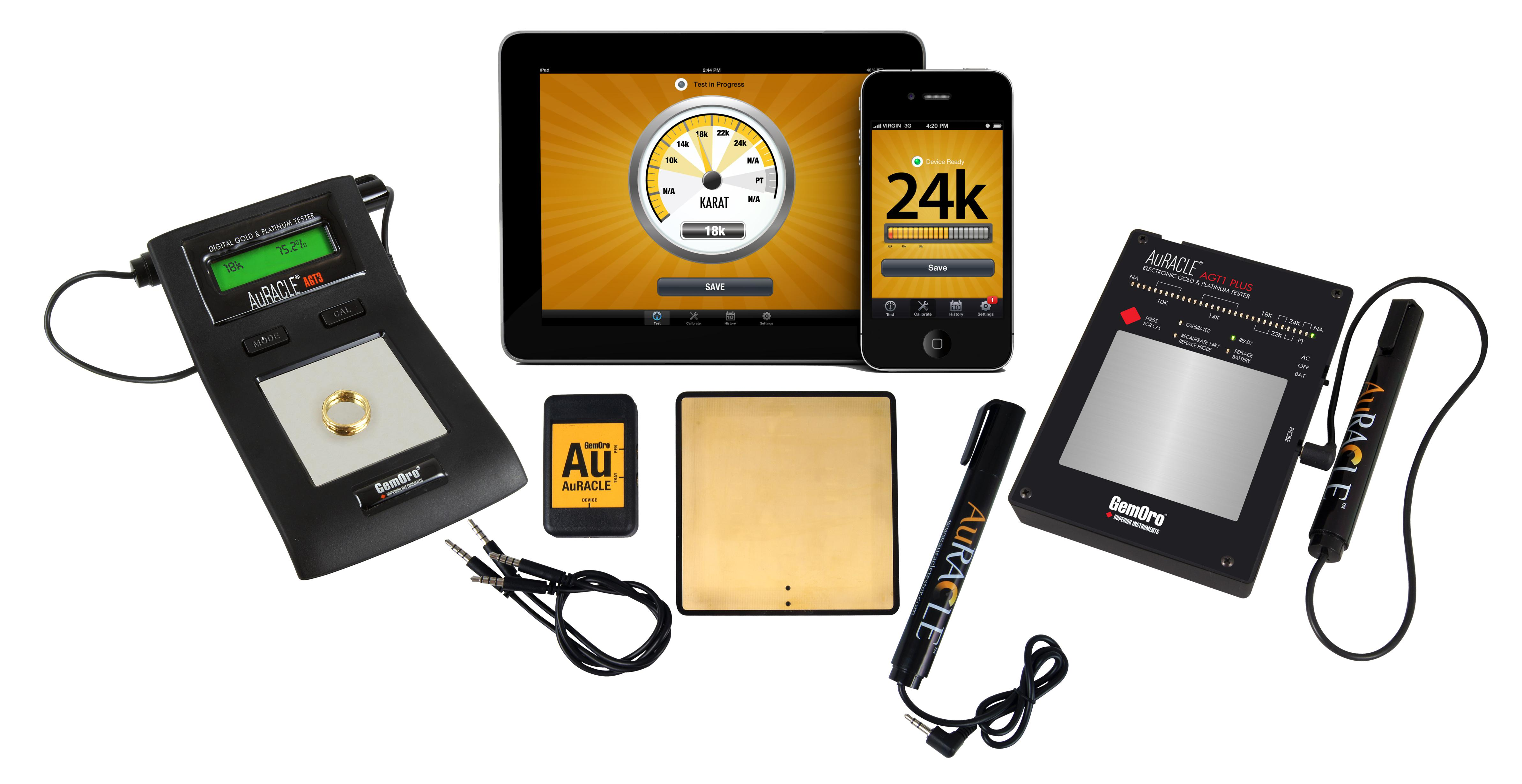 Gold And Silver Tester : Agt mobile gold tester auracle