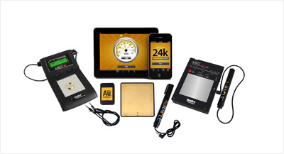 Gold Testing Devices From Auracle